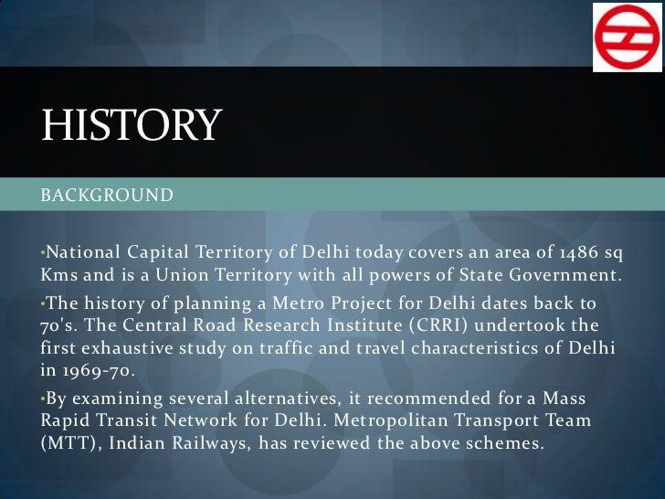 short note on delhi