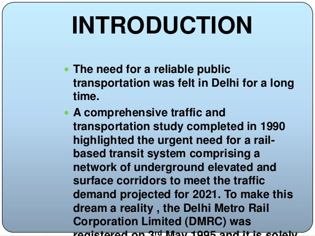 An Overview of Delhi Metro | Archinomy