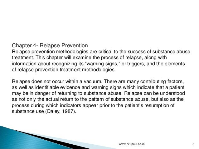 drug rehabilitation theory