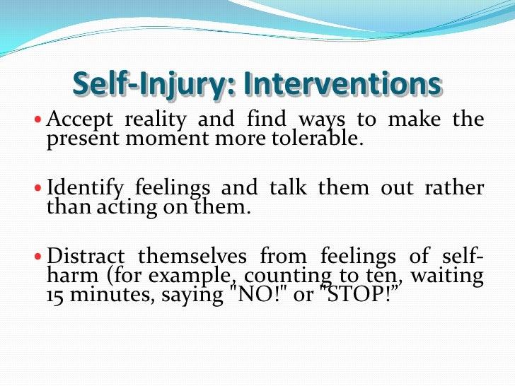 Self-Injurious Behavior&nbspTerm Paper