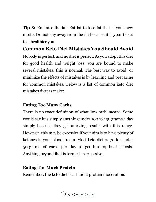 Impatience As you adopt a keto diet, you need patience: patience to get into ketosis and patience to adapt to ketosis. Und...