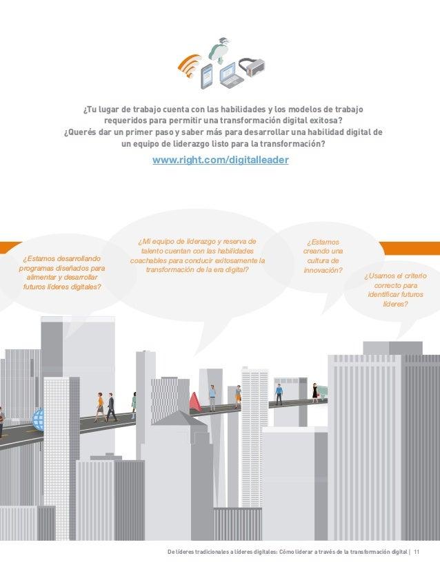 De líderes tradicionales a líderes digitales: Cómo liderar a través de la transformación digital | 11 ¿Tu lugar de trabajo...