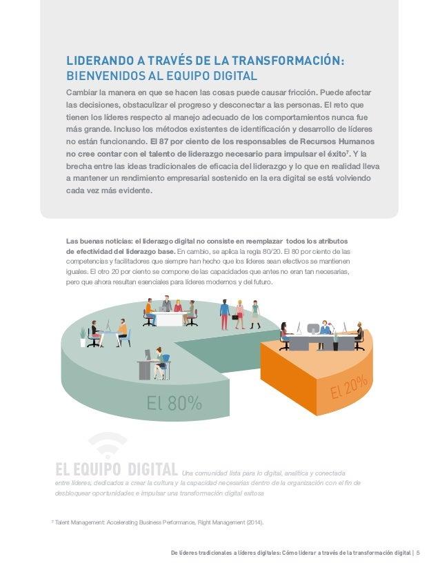 De líderes tradicionales a líderes digitales: Cómo liderar a través de la transformación digital | 5 Las buenas noticias: ...