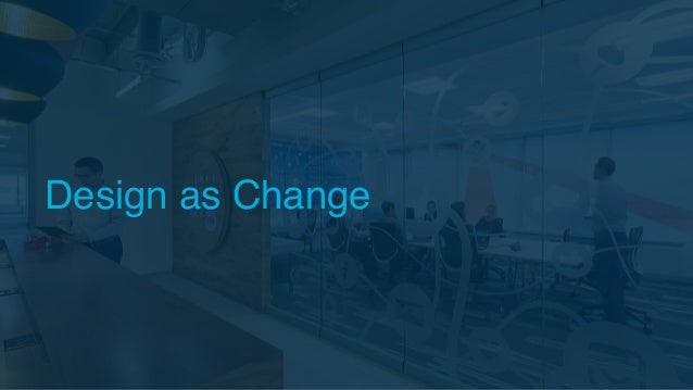 Design as Change