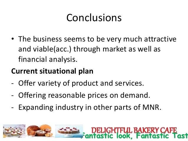 Delightful bakery cafe business plan