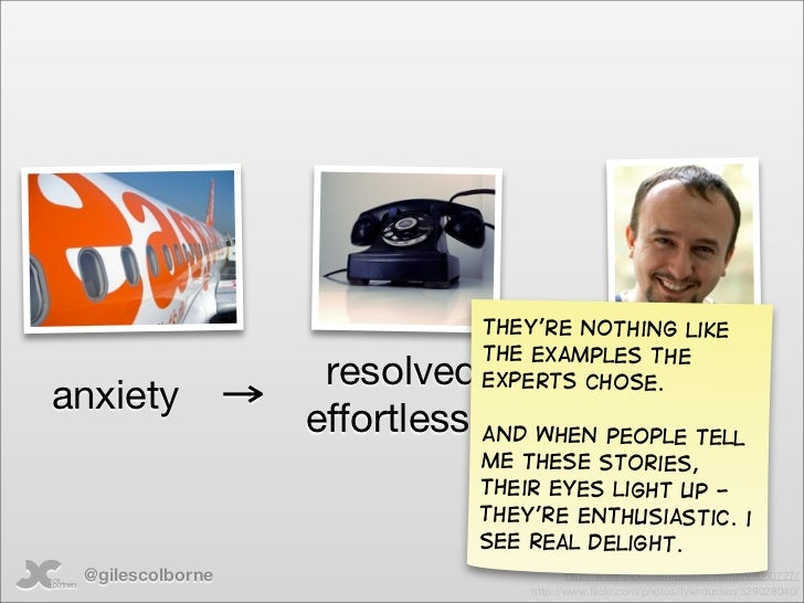 They're nothing like                              the examples the                    resolved  experts chose. anxiety    ...