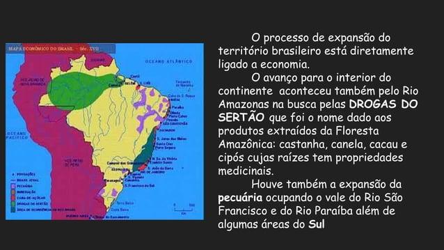 No século XIX a extração do látex das seringueiras para a fabricação da borracha na Amazônia; A expansão da cafeicultura n...