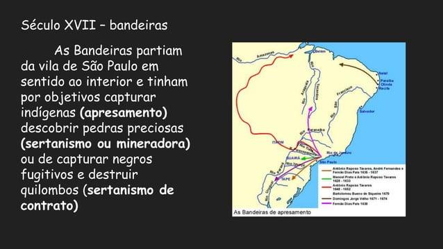 As formas do território brasileiro Até o século XVIII o território brasileiro não tinha a configuração parecida com a que...