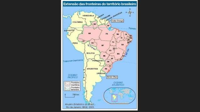 Arquipélago de Fernando de Noronha – pertence ao estado de Pernambuco Arquipélago de São Pedro e São Paulo – pertencente a...
