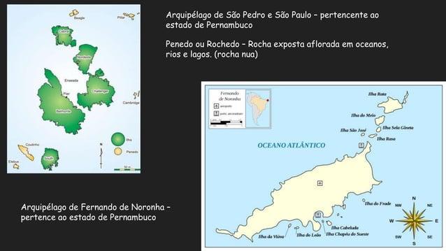 Localização do território brasileiro no mundo