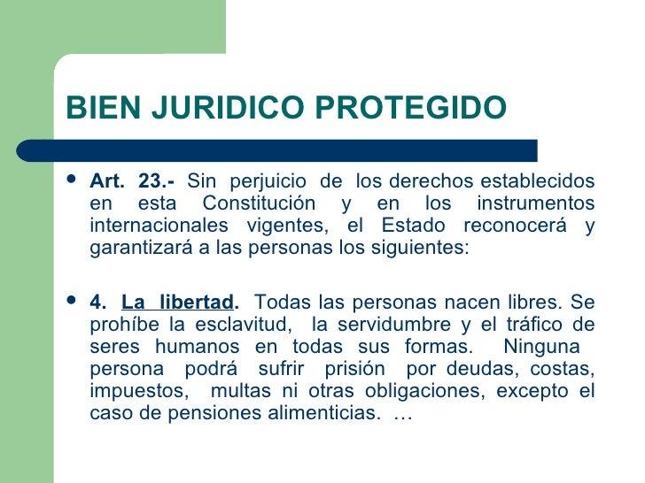 Delitos contra la libertad for Porte y trafico de estupefacientes codigo penal