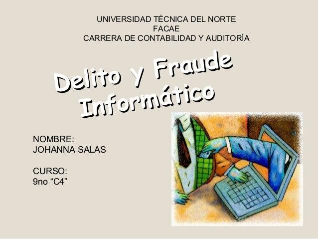 UNIVERSIDAD TÉCNICA DEL NORTE                         FACAE           CARRERA DE CONTABILIDAD Y AUDITORÍA             y Fr...