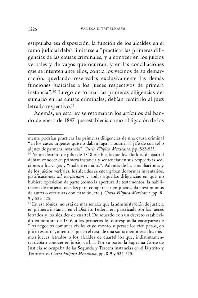 """estipulaba esa disposición, la función de los alcaldes en el ramo judicial debía limitarse a """"practicar las primeras dili-..."""
