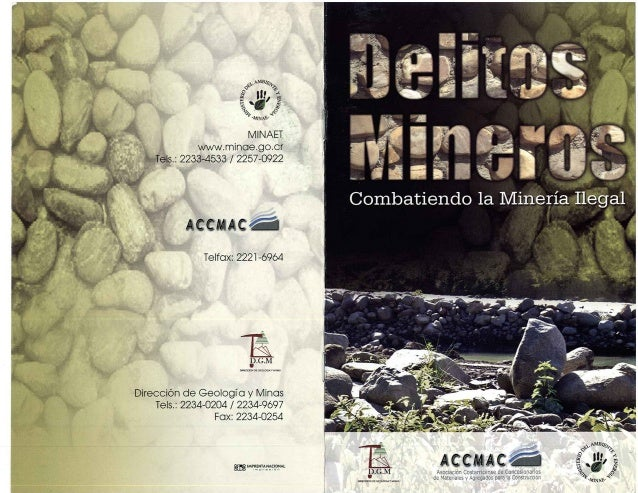 Delitos mineros folleto en pdf-