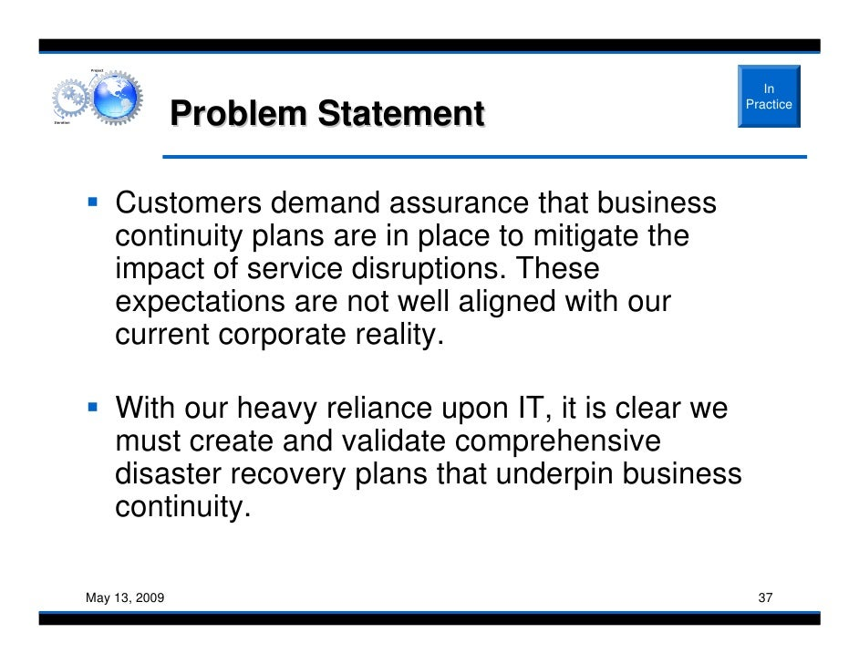 Defining a Project Problem Statement
