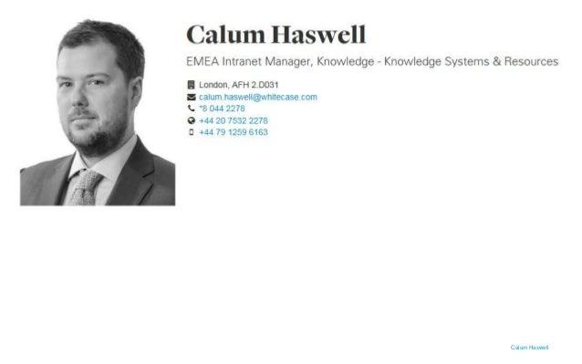 Calum Haswell