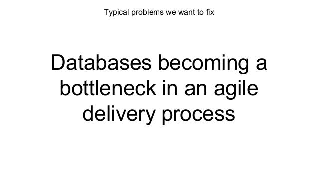Delivering Changes for Applications and Databases