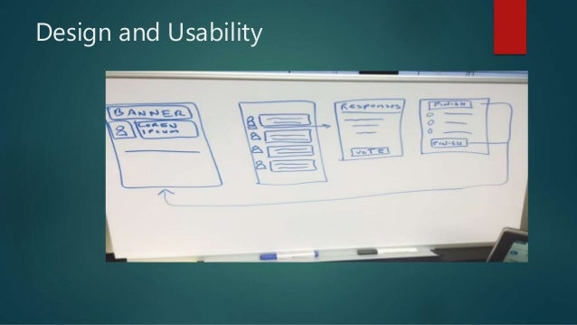 Design and Usability