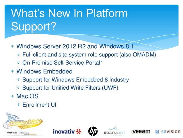 Delivering people centric it with Configuration Manager 2012 R2