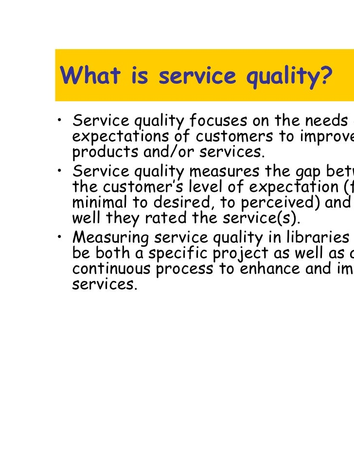service quality in the public service The quality of public services is part of the bedrock on which our society and future prosperity depends, and is crucial in shaping a flourishing, productive and equitable scotland public services have the power to improve people's quality of life and enhance their opportunities it is important .