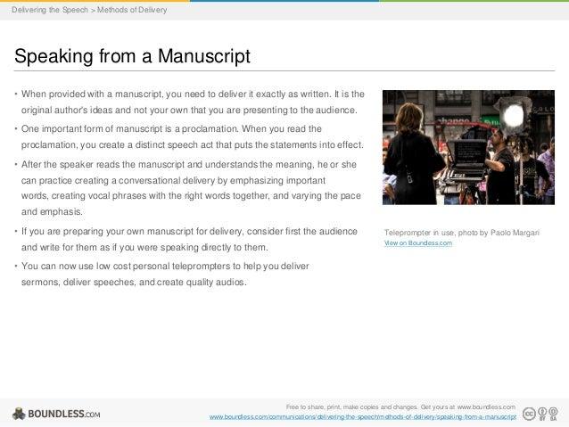 manuscript speech topics Format your spie manuscript, multimedia files, references, citation format, citing proceedings.