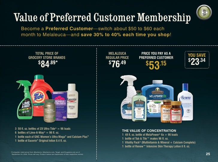 how to cancel melaleuca preferred customer