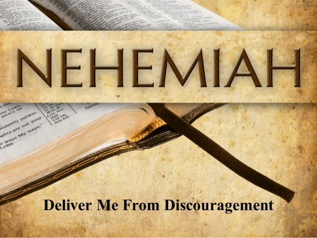 Deliver Me From Discouragement