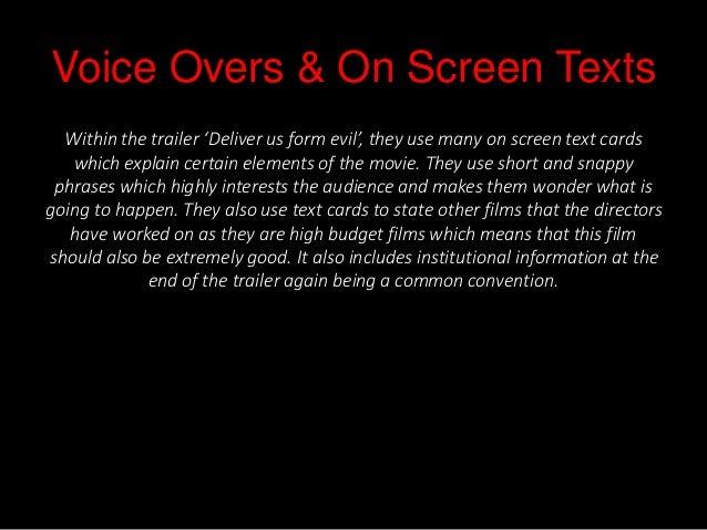 Deliver Us From Evil Horror Trailer Analysis Slide 3