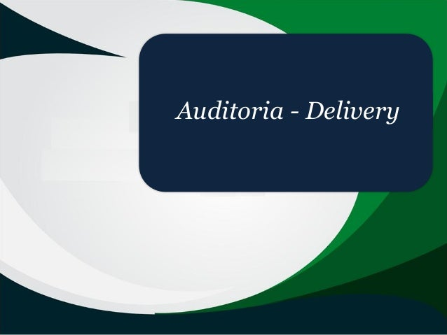 Auditoria - Delivery