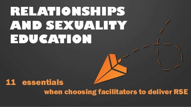 Delivery of Relationships & Sexuality Education Slide 2