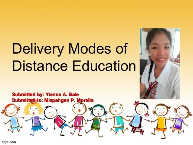 delivery modes of distance education. Black Bedroom Furniture Sets. Home Design Ideas