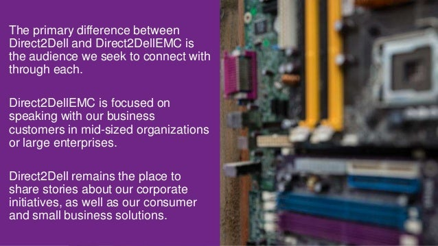 Blogging at Dell and Dell EMC - A new manifesto for a new day Slide 3