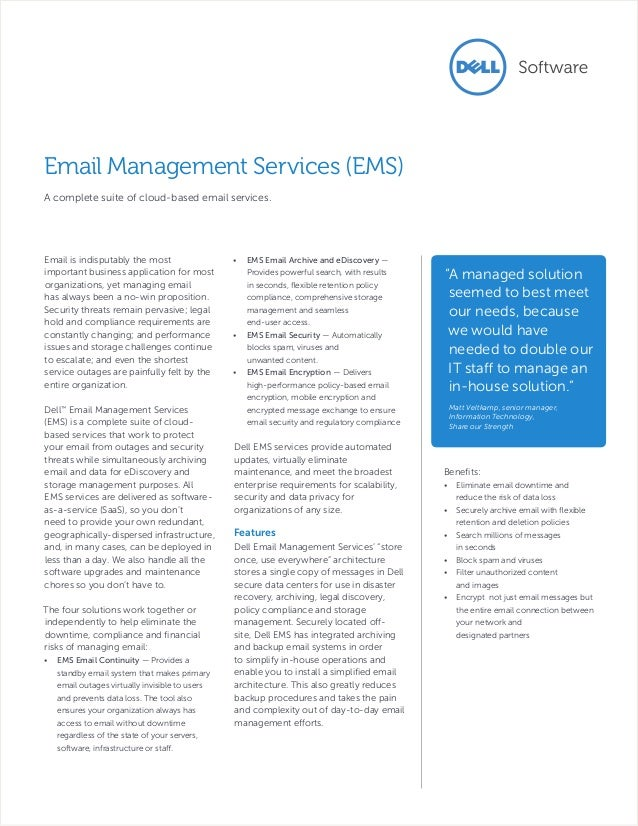 Email is indisputably the most important business application for most organizations, yet managing email has always been a...