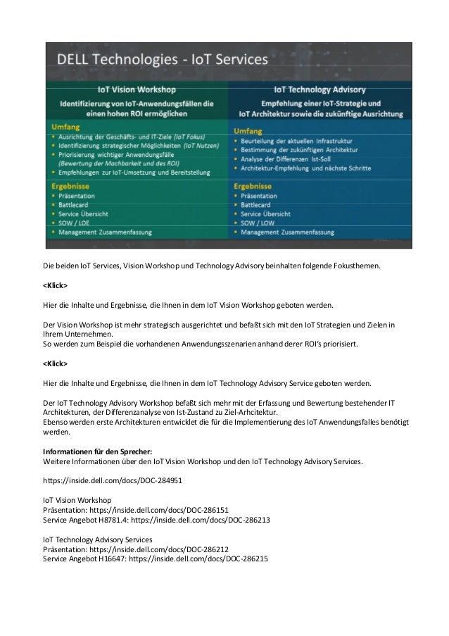 Dell Technologies - Die IoT Wertschöpfungskette für eine smarte Welt …