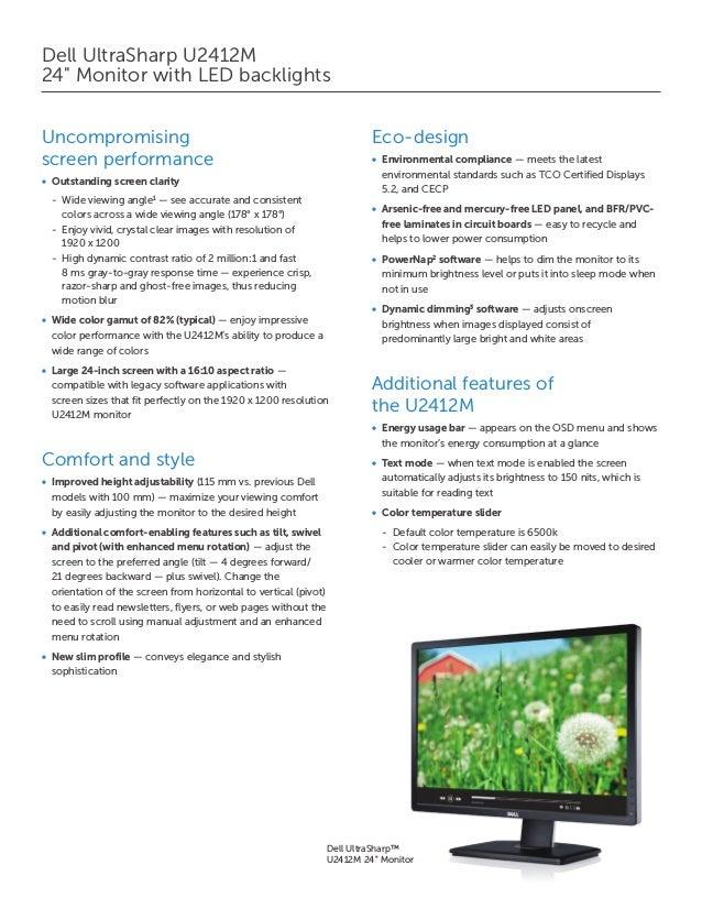 Dell Monitor Osd Menu