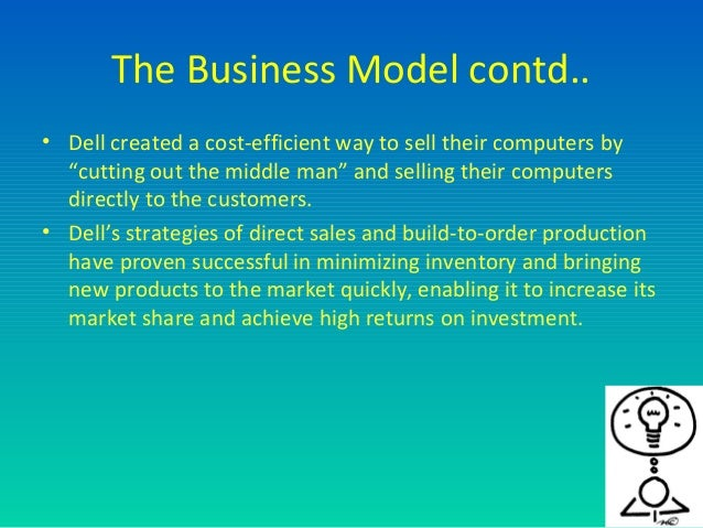 dell business model Dells business model revenue model information the way that dell does business and the revenue model is said to lay of dell's business is.