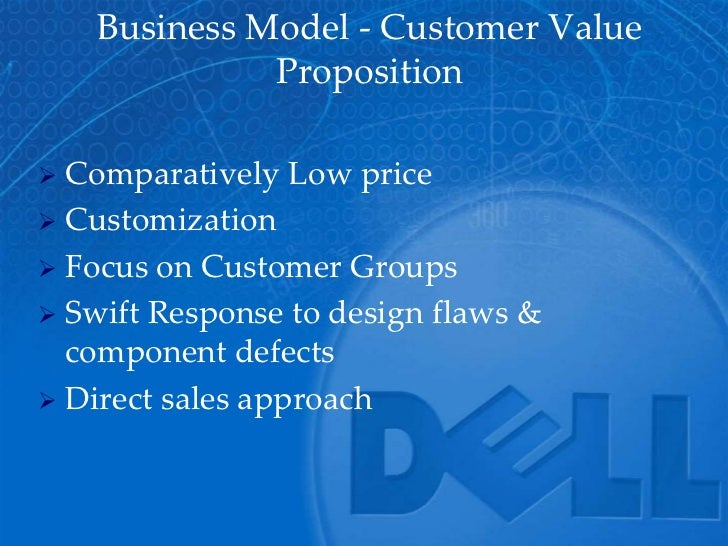 customer analysis dell Dell is one of two technology companies aggressively using analytics to measure  employees, customers and partners (the other is emc,.