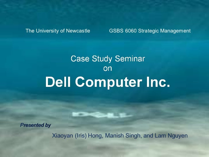 The University of Newcastle  GSBS 6060 Strategic Management Presented by
