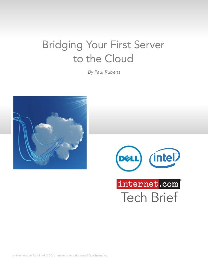 Bridging Your First Server                               to the Cloud                                                     ...