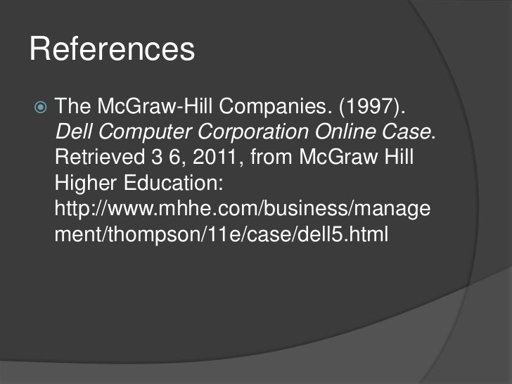 entry strategy for dell computer Dell has built their business: dell computer corporation online case retrieved 3 6 dell computer's strategy built around a number of core elementsbr.