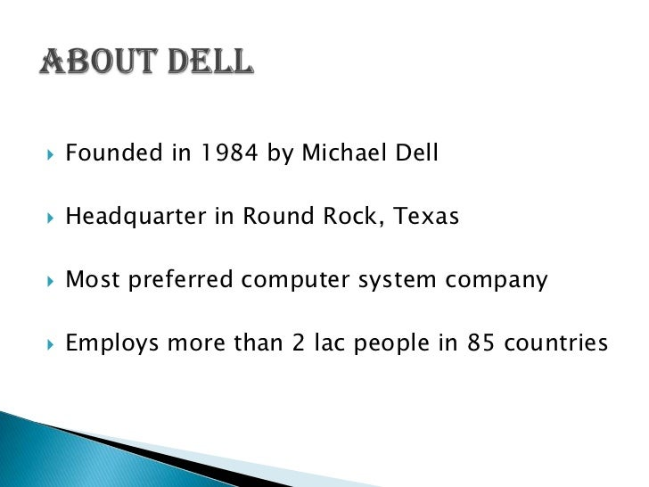dell strategy This article explores dell's competitive advantage in the industry, documenting  it's rise and fall what led to dell's initial success as a market.