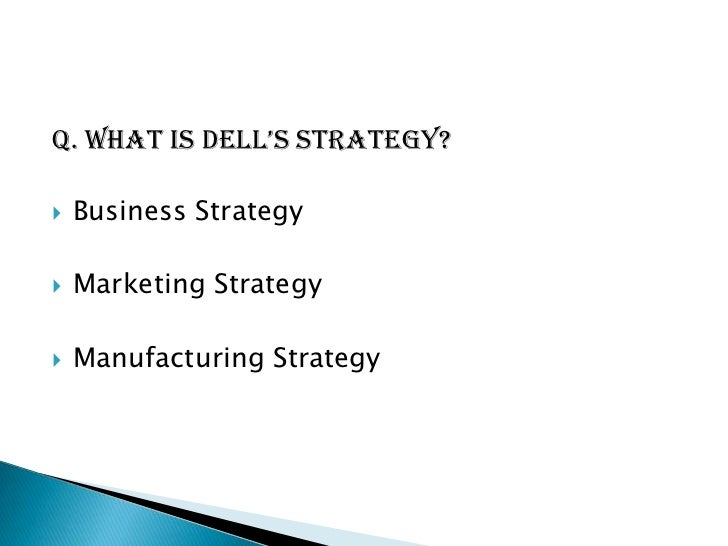 pricing strategies dell The price has experienced some small fluctuations, but has remained  consistently at or near $230, a strategic move as consistency in a.