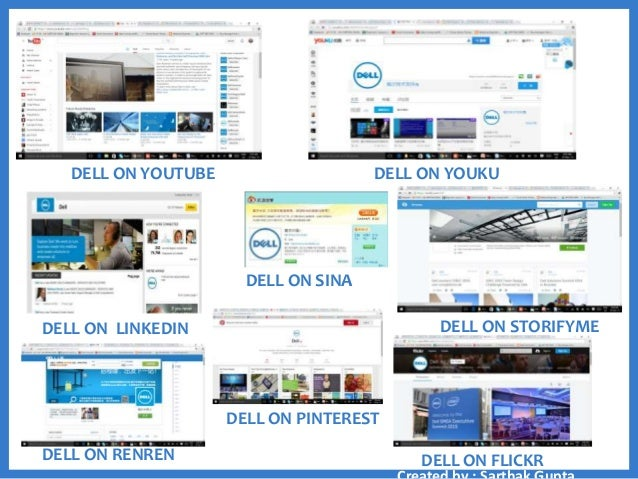 dell marketing strategy The purpose of this report is to analyse the dell's strategy over the period of case, which directly affects its competitive advantage, market growth and development.