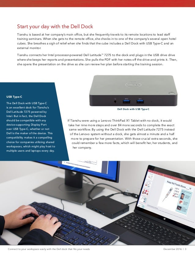 Connect to your workspace easily with the Dell dock that fits your ne…