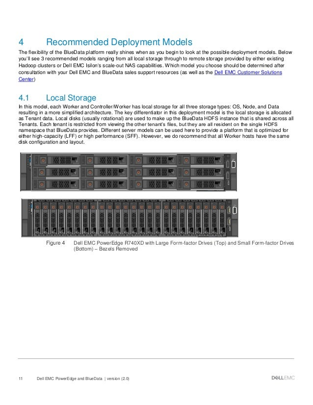 Dell EMC PowerEdge and BlueData - Best Practices Guide