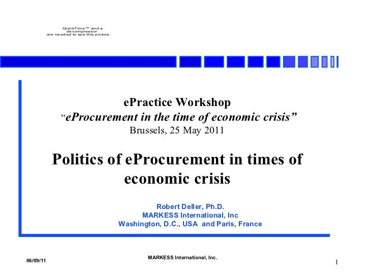 "<ul><li>ePractice Workshop </li></ul><ul><li>"" eProcurement in the time of economic crisis"" </li></ul><ul><li>Brussels, 25..."