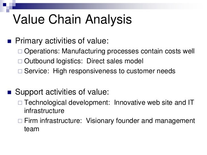 primary and support activities of value Value chain analysis of procter and gamble case study value chain analysis describes the activities that take place in a business and relates them to an analysis of the primary and support activities financial management.
