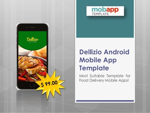 Dallizio Android Mobile Application Template Only at $99