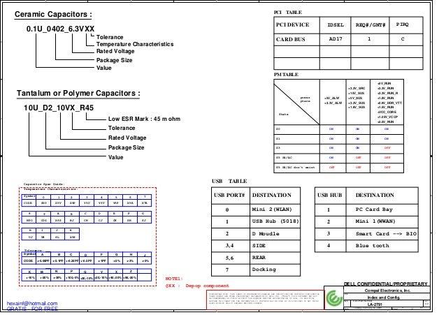 Dell latitude d620_-_compal_la-2791_-_rev_1_0