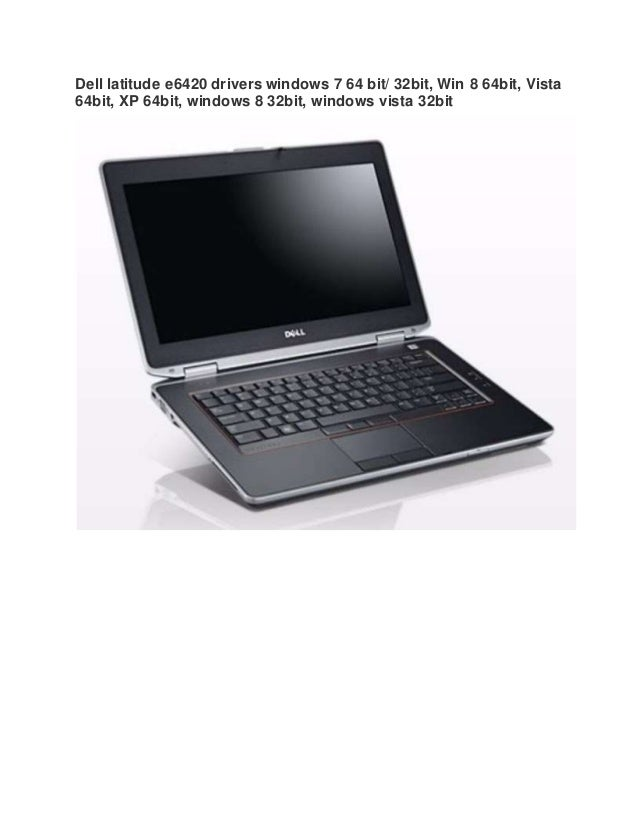 Dell Latitude E6420 Notebook IDT 92HDxxx HD Audio 64 Bit
